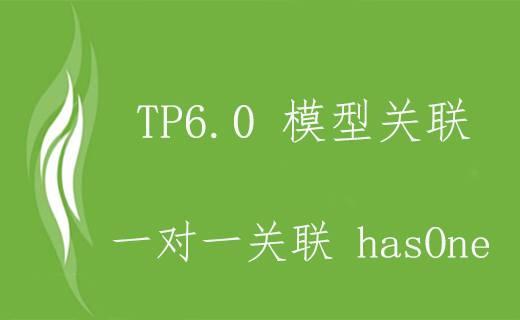 TP6.0 一对一模型关联 hasOne